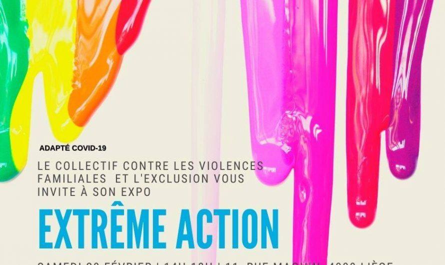 "Exposition ""Extrême action"""