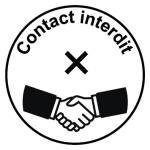 Sticker contact interdit COV08-eb0e32eb