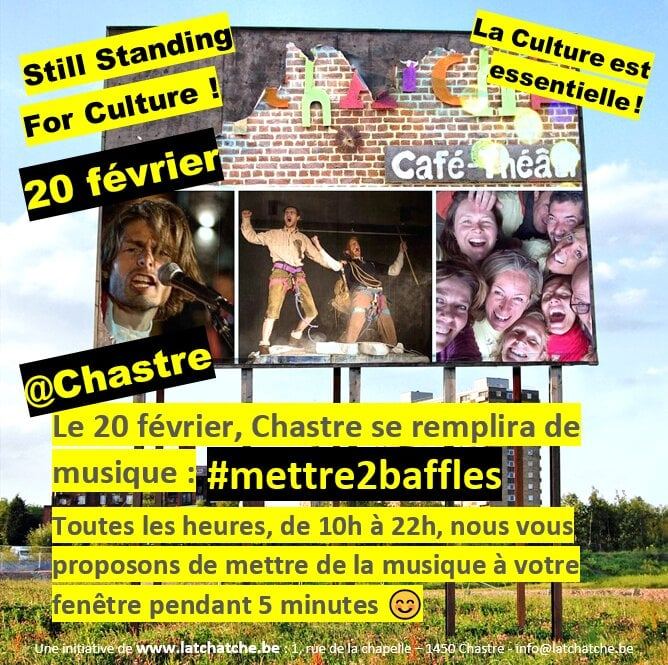 #mettre2baffles still standing for culture Chastre La Tchatche-b61a9afc