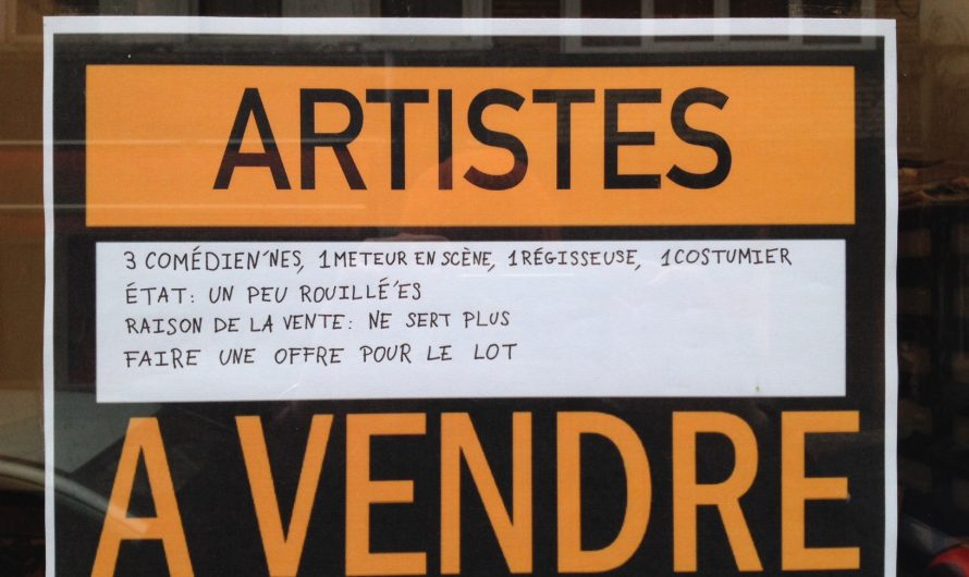 Artistes à Vendre
