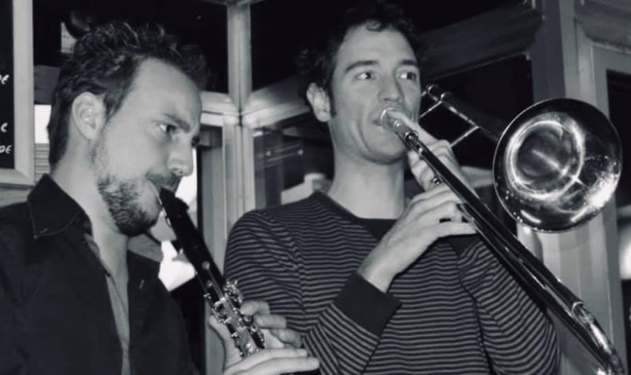 Concert Jf Foliez (clarinette) Adrien Lambinet (trombone) en duplex de la taverne Saint Paul à liège