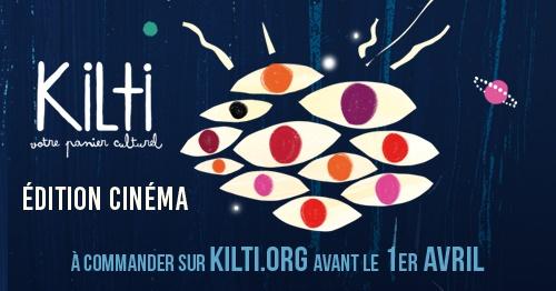 Le panier culturel Kilti spécial Cinéma