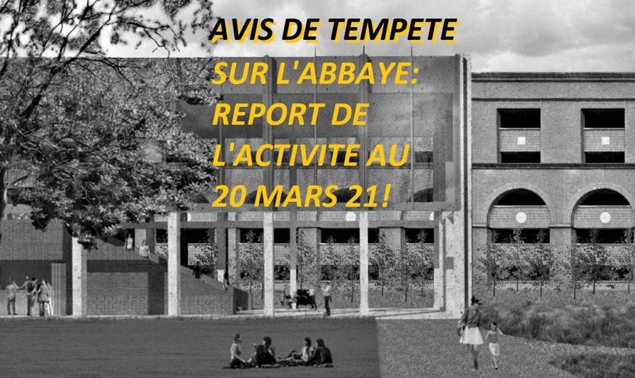 """Une abbaye va disparaître, ABY va apparaître…"""