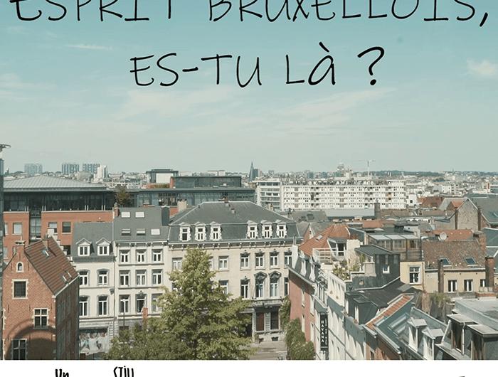 """Projection """"Esprit bruxellois, es-tu là ?"""""""
