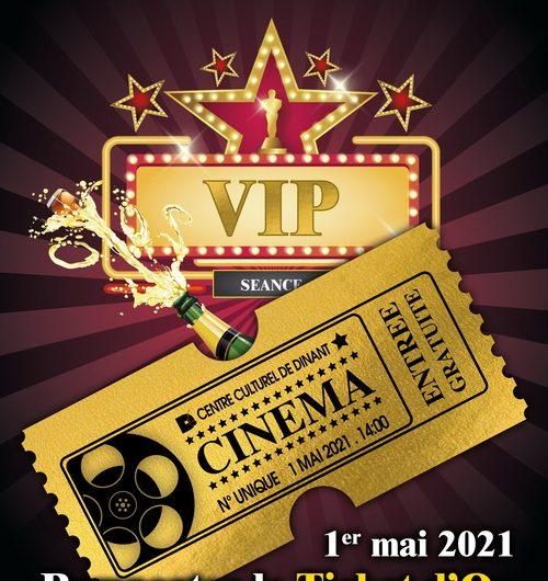 LE TICKET D'OR – Séance cinéma VIP en solo dans la salle